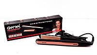 Стайлер гофре для волос Gemei GM 2955W, 50 Вт, керамико-турмалиновые пластины 25х110 мм, нагрев 200°C