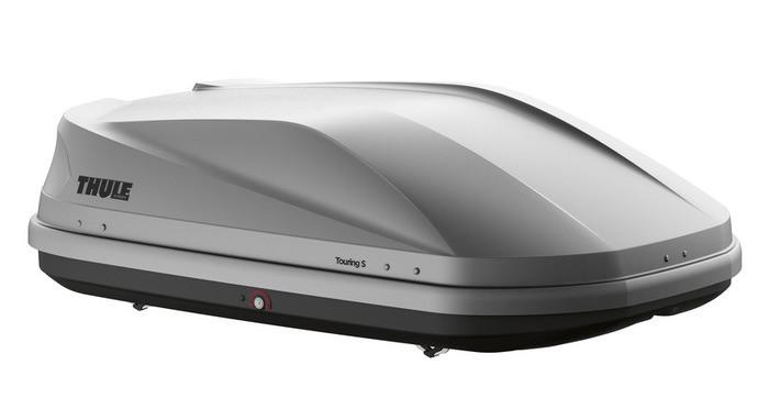 Бокс Thule Touring 100 серый матовый 139х90х40 см (двухсторонний)