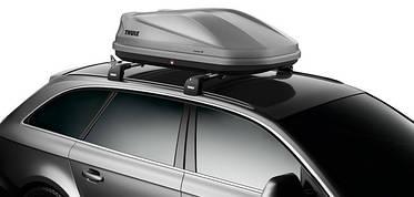 Бокс Thule Touring 100 серый матовый 139х90х40 см (двухсторонний), фото 3