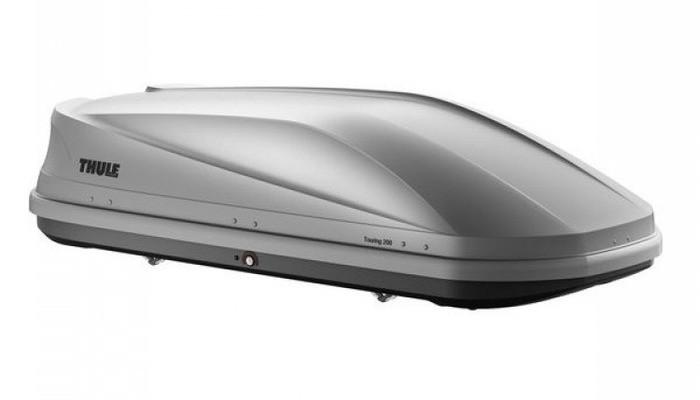 Бокс Thule Touring 200 серый матовый 175х82х45 см (двухсторонний)