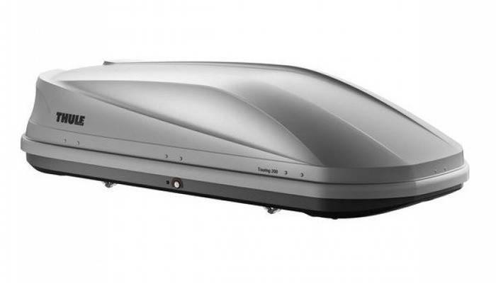 Бокс Thule Touring 200 серый матовый 175х82х45 см (двухсторонний), фото 2
