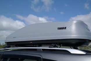 Бокс Thule Touring 200 серый матовый 175х82х45 см (двухсторонний), фото 3