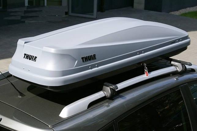 Бокс Thule Touring 600 серый матовый 190х69х39 см (правосторонний), фото 2
