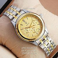 Наручные часы Rolex Quartz 009 Silver-gold/Gold