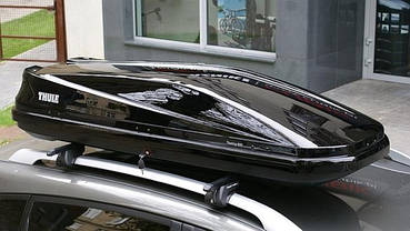 Бокс Thule Touring 600 черный глянец 190х69х39 см (правосторонний), фото 3