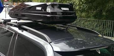 Бокс Thule Touring 600 черный глянец 190х69х39 см (правосторонний), фото 2