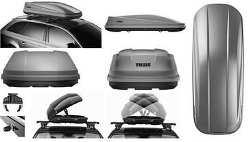 Бокс Thule Touring 780 серый матовый 196х78х43 см (двухсторонний), фото 2