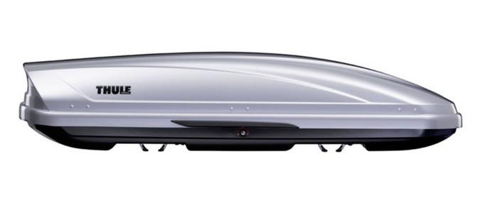 Бокс Thule Motion 600 серый металлик 190х67х42 см (двухсторонний)