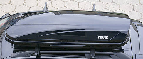 Бокс Thule Motion 600 черный глянец 190х67х42 см (двухсторонний), фото 3