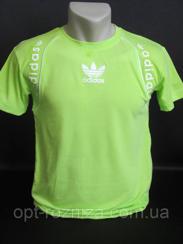 Однотонные подростковые футболки на лето.