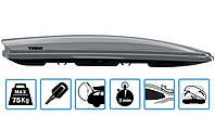 Бокс Thule Dynamic 900 серый металлик 235х94х35 см (двухсторонний)