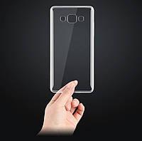 Прозрачный Силиконовый Чехол для Samsung Note 4