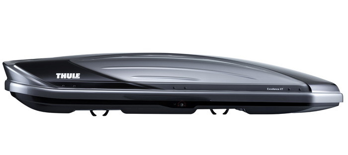 Бокс Thule Excellence Титановый металлик,глянцевый черный (двухсторонний)