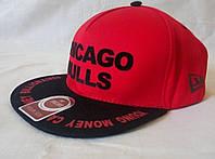Кепка реперка CHICAGO BULLS