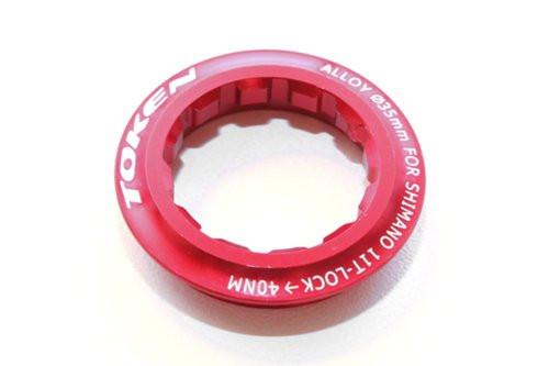 Локринг кассеты Token 11T, красный