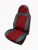 Чехлы на сидения универсальные - автоткань Pilot темно красный