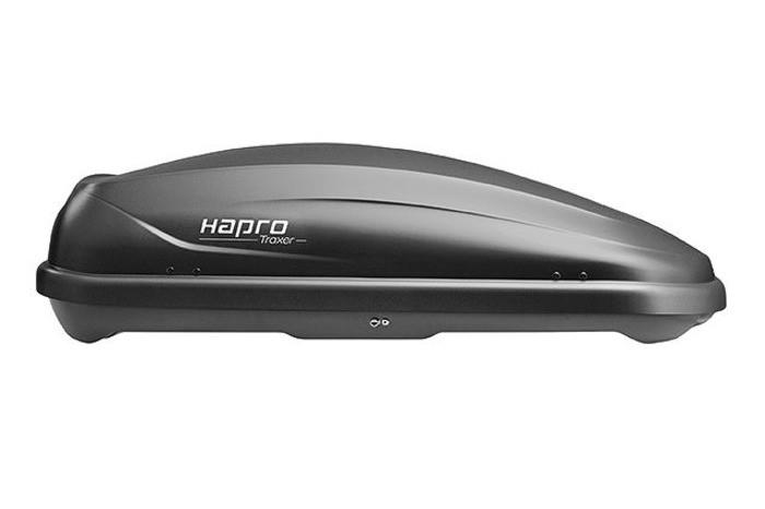 Бокс Hapro Traxer 4.6 антрацит 148х87х42 см (двухсторонний)