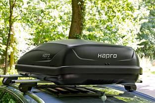 Бокс Hapro Traxer 4.6 антрацит 148х87х42 см (двухсторонний), фото 3