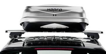 Бокс Hapro Zenith 8.6 титановый 215х88х37 см (двухсторонний), фото 2