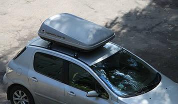 Бокс Terra Drive-420 серый 152х100х43 см (двухсторонний), фото 2