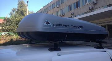 Бокс Terra Drive-420 серый 152х100х43 см (двухсторонний), фото 3