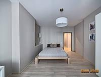 Кровать деревянная Кр-2, (2260*1860*800,матрас 2000*1600)