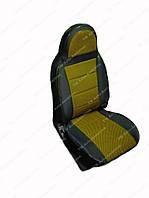 Чехлы на сидения универсальные -  из автоткани Pilot Lux желтый