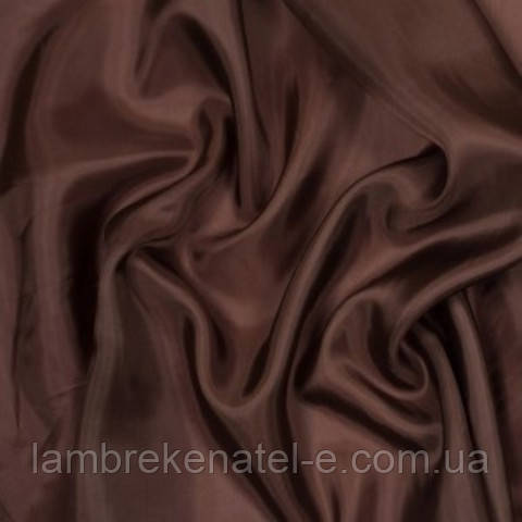 Шифон темный шоколад и венге