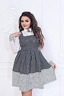 Женское платье ткань креп- костюмка