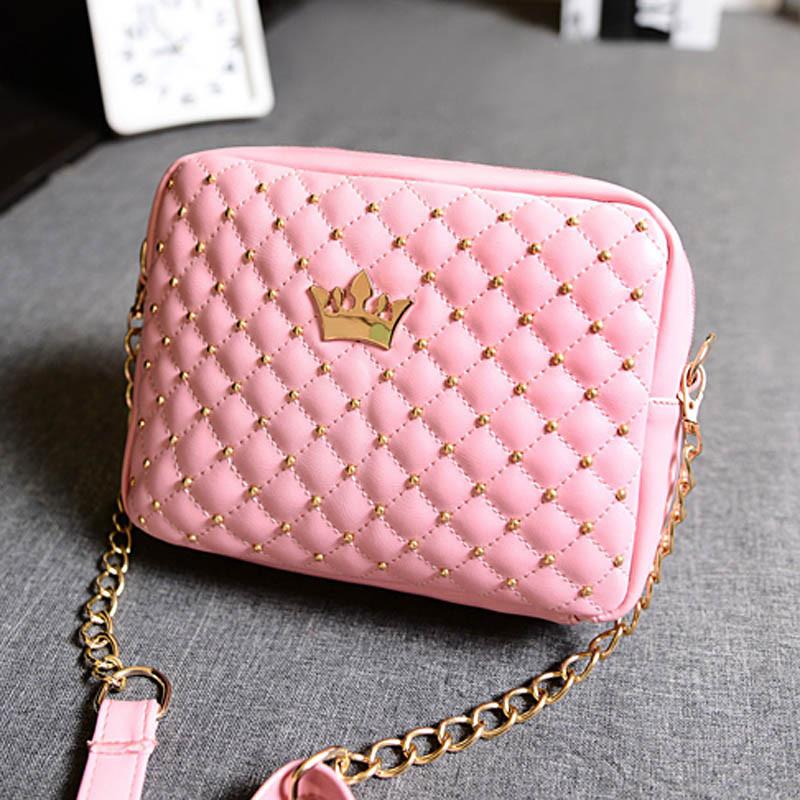 a19217832c0a Сумка небольшая-маленькая через плече розовая с короной: продажа ...