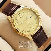 Наручные часы Rolex 4207 Geneve Brown/Gold/Gold