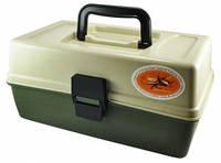 Ящик органайзер LFG 2 полки (зеленый)