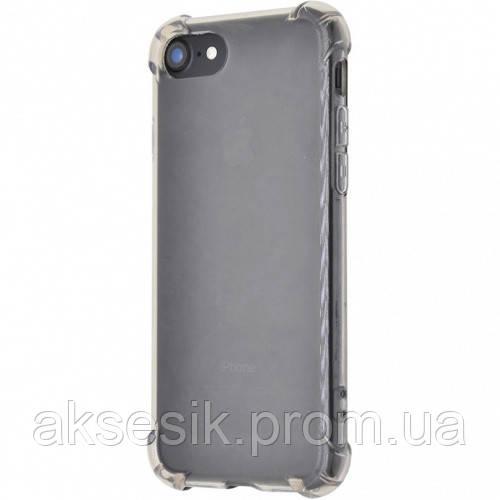 Силиконовый чехол WXD Силикон противоударный iPhone 5/5s/SE (black)