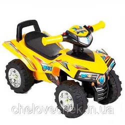 Машинка-каталка Alexis-Babymix HZ-551 (yellow)