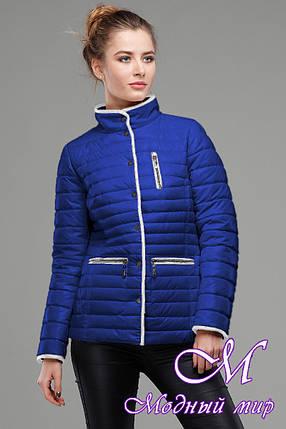 Жіноча яскрава демісезонна куртка (р. 42-56) арт. Селена, фото 2