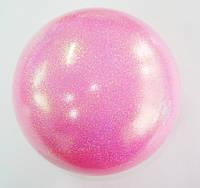 Мяч Pastorelli глиттер Rosa Baby 18 cm Art. 02447