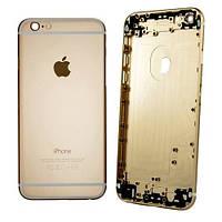 Корпус для IPhone 6s (металлическая рамка, корпус) (gold)