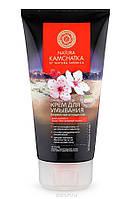 """Крем очищающий для умывания Natura Kamchatka для лица """"Бережное очищение"""" 150 мл"""