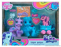 """Игровой набор """"Пони"""" 8103 с аксессуарами, в коробке"""