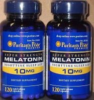 Мелатонин для сна Melatonin 10 mg 120 tab