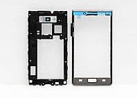 Передняя панель и аккумуляторный отсек для телефона LG P700 A