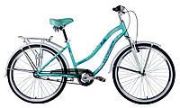 "Велосипед WINNER PRETTY 26"", рама 16"", бирюзовый"