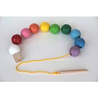 Шнуровка цветные шарики