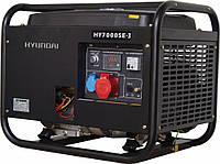бензиновый генератор hyundai 6 квт 380в