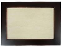 Плитка керамическая в рамке из натурального дерева (20х30 см)