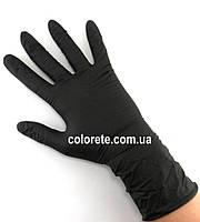 Перчатки нитриловые неопудренные черные S (100 шт./50 пар)