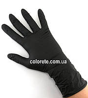 Перчатки нитриловые неопудренные черные М Медиком SafeTouch 1187 С, 6г/м² (10 шт./5 пар)