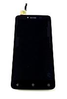 Оригинальный дисплей (модуль) + тачскрин (сенсор) для Fly FS505 Nimbus 7 (черный цвет), фото 1