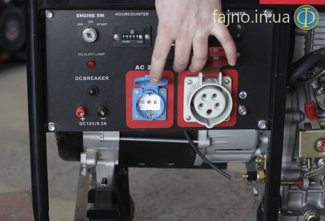 Дизельный трехфазный генератор Weima 5000CLE-3