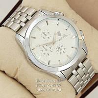 Наручные часы Rolex 027 Silver/White